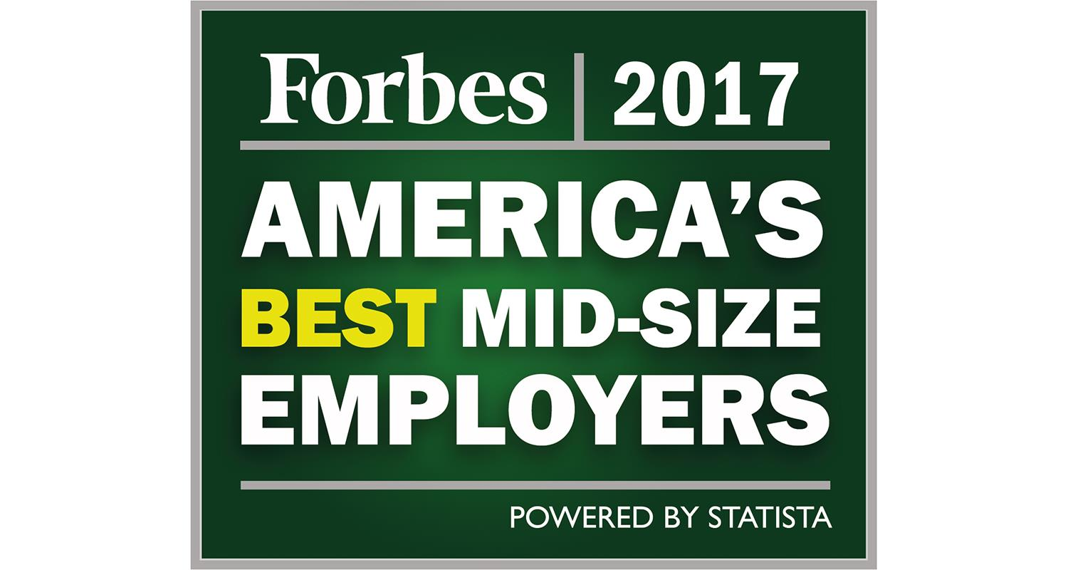 AAM Named One of America's Best Midsize Employers by Forbes