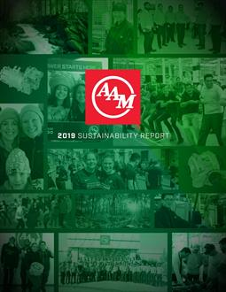 AAM Sustainability Report Cover-resized