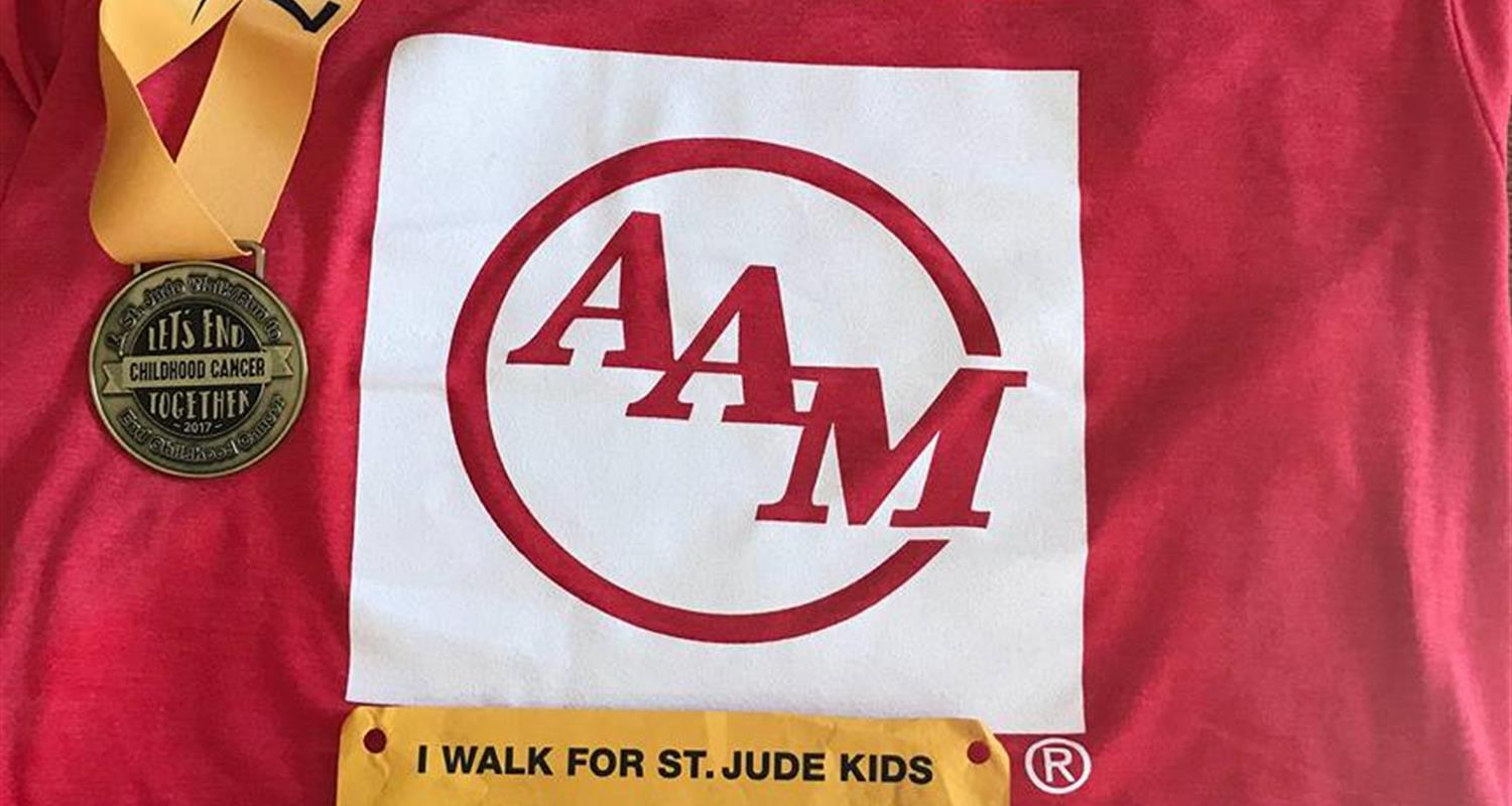 AAM Supports St. Jude at Inaugural Detroit Run/Walk
